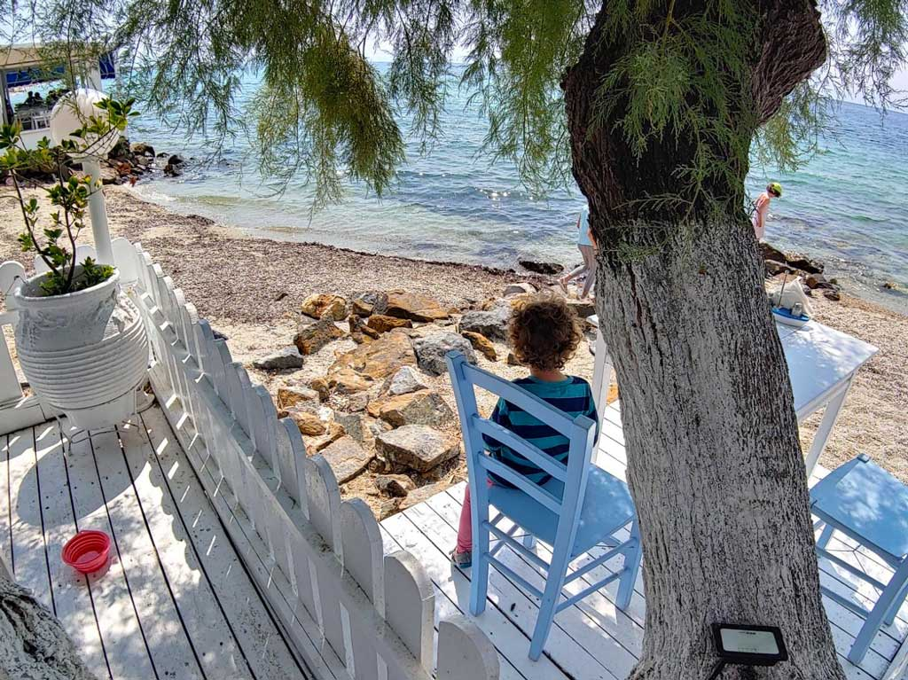 die Linguistin - zweisprachige Kinder am Strand